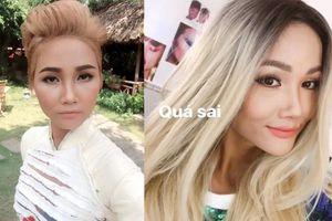 Sao Việt nhuộm tóc sáng màu: người lên hương, kẻ thất bại ê chề