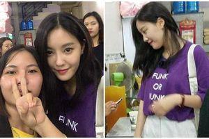 Hyomin (T-ara) ăn vận giản dị vào quán ăn bình dân ở Nha Trang
