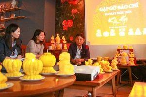 Công ty CP Nến Đại Việt ra mắt mẫu nến đậm chất dân gian dịp Tết cổ truyền 2019