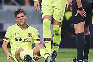 Sergi Roberto chấn thương nặng