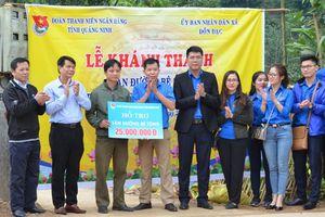 Đoàn Thanh niên Ngân hàng tỉnh: Tình nguyện tại Ba Chẽ