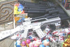 Báo động tình trạng đồ chơi bạo lực trẻ em bán công khai