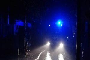Cháy xưởng sản xuất lốp xe tại Bình Dương giữa mưa lớn