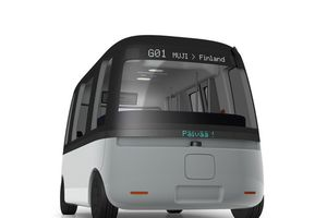 Hãng bán lẻ Nhật Bản phát triển xe buýt tự lái phong cách tối giản