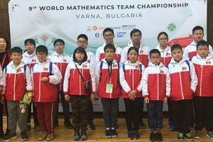 Việt Nam giành 9 Huy chương vàng tại kỳ thi Toán thế giới 2018