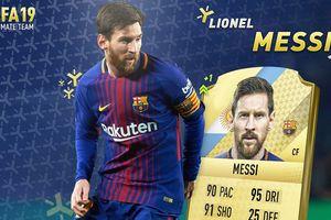 Clip: Những kỹ năng siêu đẳng của Lionel Messi trong FIFA 19