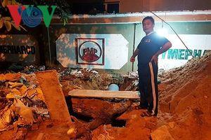 Sở Tài Nguyên-Môi Trường Phú Yên phản hồi vụ chặn lắp ống thoát nước