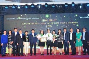 Vietcombank tổ chức thành công Cuộc thi 'Đổi mới – Sáng tạo để phát triển và hội nhập'