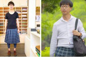 Nam giáo sư Hong Kong thích mặc váy, trang điểm khi đi dạy: Người ta bảo tôi là gay nhưng tôi không khó chịu