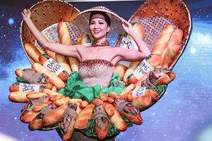 Cận cảnh trang phục dân tộc gây tranh cãi của H'hen Nie tại Miss Universe 2018