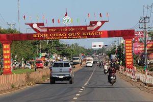 Bình Phước: Công bố thành lập TP Đồng Xoài