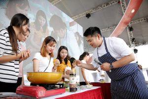 Tinh hoa ẩm thực Hàn Quốc hội tụ tại Hà Nội