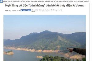 Phản hồi bài 'Ngôi làng cô độc 'bốn không' bên bờ hồ thủy điện A Vương': Năm 2019, thôn Z'Lao có điện lưới quốc gia