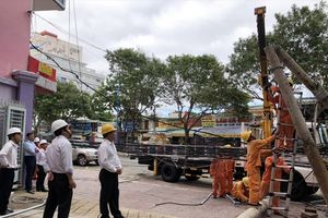 Bão số 9 Usagi gây thiệt hại về điện tại Vũng Tàu khoảng 5 tỷ đồng
