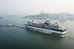 Cảng tàu khách quốc tế Hòn Gai đón chuyến tàu khách đầu tiên
