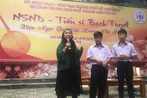Sở VH-TT TP HCM sẽ hỗ trợ chương trình 'Sân khấu học đường'