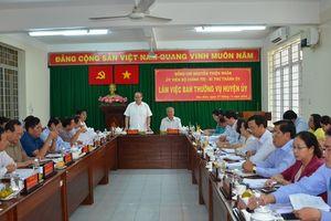 Bí thư Thành ủy TP HCM đề nghị Hóc Môn sớm gỡ vướng hồ sơ đất đai