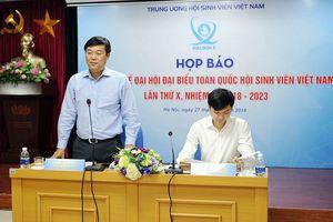 693 đại biểu tham dự Đại hội đại biểu toàn quốc Hội Sinh viên Việt Nam