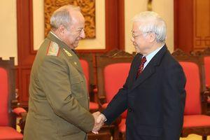 Tổng Bí thư, Chủ tịch nước Nguyễn Phú Trọng: Tạo điều kiện thuận lợi để quan hệ quốc phòng Việt Nam - Cuba tiếp tục tăng cường và phát triển