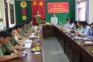 Thực hiện hiệu quả công tác phối hợp giữa lực lượng công an và Ban Tuyên giáo