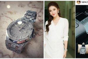 Ngắm loạt đồng hồ sang chảnh khiến ai cũng ghen tỵ của hoa hậu Việt