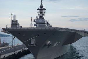 Nhật dự tính phát triển 'tàu sân bay đa nhiệm' để đương đầu Trung Quốc