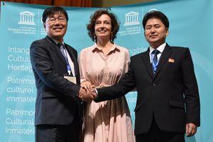 Hàn Quốc và CHDCND Triều Tiên bắt tay để đấu vật truyền thống trở thành di sản