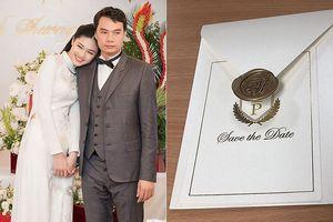 Hé lộ thiệp cưới đơn giản đến bất ngờ của Á hậu Thanh Tú