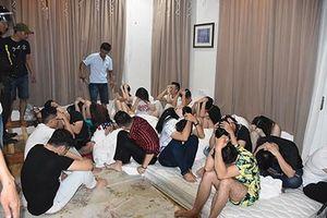 Bắt giữ 17 nam thanh nữ tú sử dụng ma túy trong khách sạn