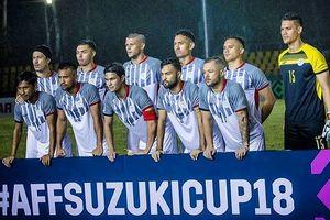 Tuyển Philippines 'xấu chơi' nhất vòng bảng AFF Cup 2018