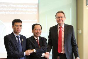 PVN và PV GAS ký thỏa thuận cung cấp khí từ mỏ Tuna