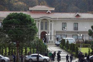 Thổ Nhĩ Kỳ lục soát một biệt thự ngoại ô để tìm thi thể nhà báo Khashoggi