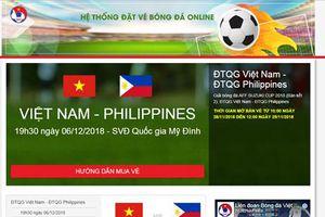 Bưu điện Việt Nam sẽ chuyển phát vé trận Việt Nam - Philippines