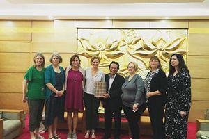 Thúc đẩy hợp tác, hữu nghị nhân dân giữa hai nước Việt-Mỹ