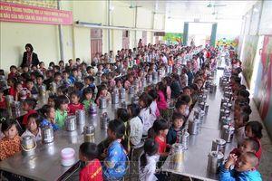 Học bán trú ở vùng cao Sông Mã, Sơn La