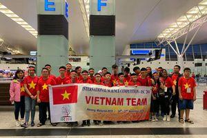 Đoàn học sinh Hà Nội giành 4 HCV tại Cuộc thi Khoa học quốc tế - ISC