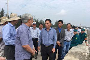 Quảng Nam: Tuyến Kè mới chống xâm thực bờ biển Cửa Đại