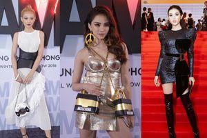 Thảm đỏ show Chung Thanh Phong: Khi dàn sao nữ đồng loạt lên đồ như dự lễ hội Halloween