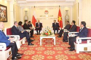 Việt Nam – Ba Lan tăng cường hợp tác phòng, chống tội phạm
