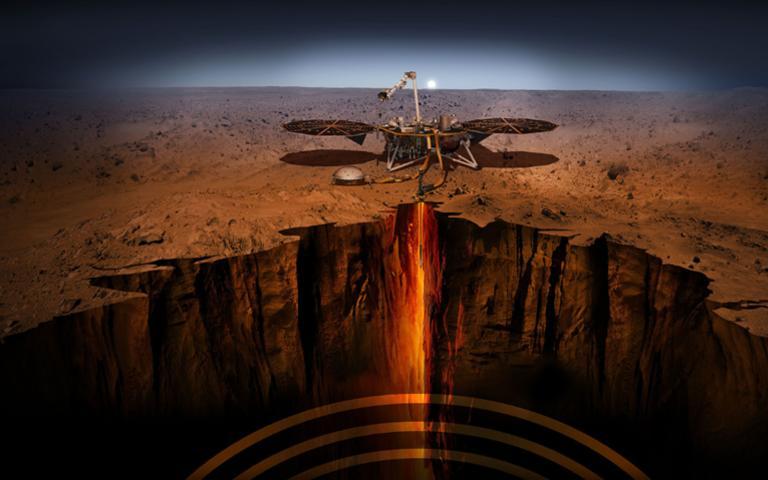 Hành trình hạ cánh ngoạn mục của tàu vũ trụ InSight trên sao Hỏa
