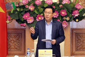 Phó Thủ tướng Vương Đình Huệ: Năm 2019, duy trì đà tăng trưởng kinh tế