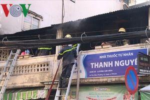 TP HCM: Cháy nhà trong khu dân cư, nhiều tài sản bị thiêu rụi
