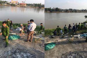 Đi nhặt rác, phát hiện thi thể bé trai sơ sinh bọc trong túi nilon ở bờ sông