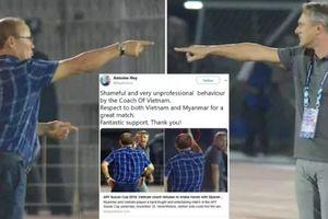 5 sự kiện gây tranh cãi AFF Cup 2018: HLV Park Hang Seo không bắt tay đối thủ, Văn Toàn mất oan bàn thắng