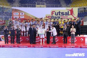 Futsal HDBank Cúp Quốc gia 2018: Thái Sơn Nam bảo vệ thành công ngôi vô địch