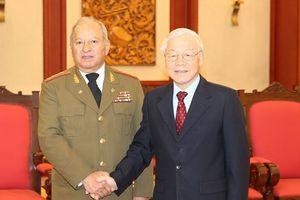 Hợp tác quốc phòng, thúc đẩy quan hệ hữu nghị truyền thống đặc biệt Việt Nam - Cuba