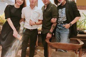Cường Đô la thể hiện sự tế nhị trong tiệc sinh nhật bạn gái dù vừa tuyên bố cưới Đàm Thu Trang