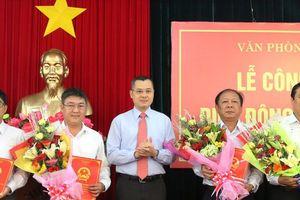 Nhân sự mới tại 3 tỉnh Nam Định, Phú Yên, Quảng Trị