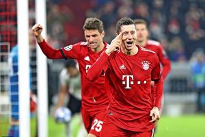 Vùi dập Benfica 5-1, Bayern vào vòng 1/8 Champions League