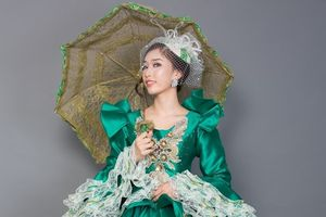Lộ diện trang phục dân tộc của Stella Đào tại Miss Globe 2018